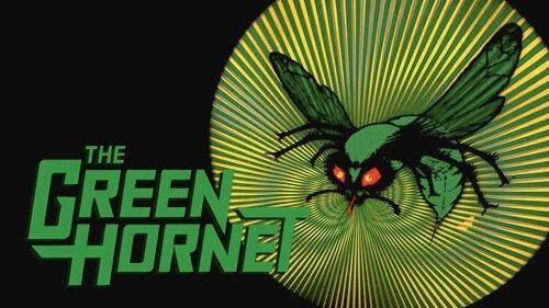1960s GREEN HORNET TV show logo magnet - new!