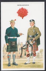 Military-Postcard-British-Army-Series-The-Black-Watch-RT2090