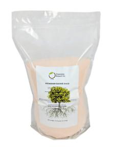 Radient Sulfate De Potassium 0-0-53 Plus 18% De Soufre 100% Soluble Dans L'eau Potasse 25 Lb (environ 11.34 Kg)-afficher Le Titre D'origine Performance Fiable