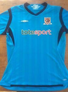 Hull City 2009 2010 Tigers Short Sleeve Football Shirt Umbro XLB XL ... 817fb9dac