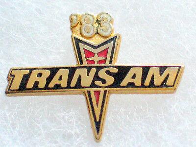 Vintage 1974 Pontiac Trans Am Hat Lapel Pin