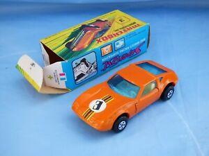 Vintage-Lesney-1972-Matchbox-Superfast-Monteverdi-Orange-Hai-No-3-Car-Toy-Boxed