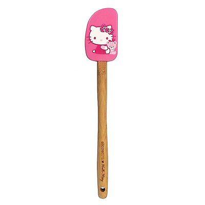 SiliconeZone Hello Kitty Pink Silicone Spatula / Scraper