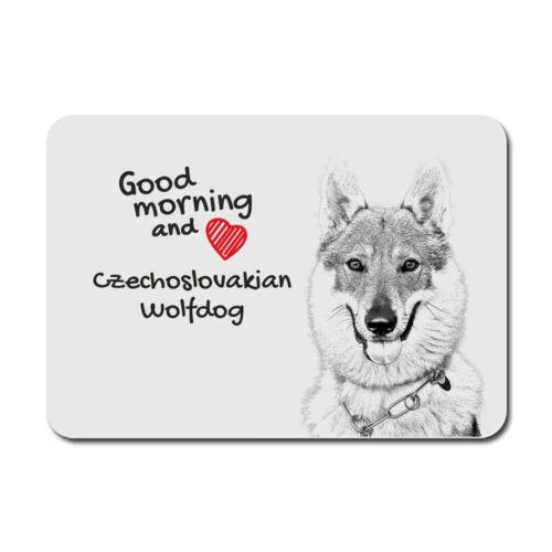 Tschechoslowakischer Wolfhund Maus Pad DE