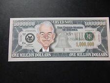STEVE MARTIN $1 MILLION DOLLAR NOTE Novelty Bill $1,000,000 Actor Comedian Stand