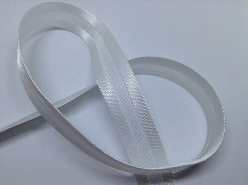 il Quilting e fai da te. Bandierine BIAS Binding bianco in raso 20mm x 2m per cucire