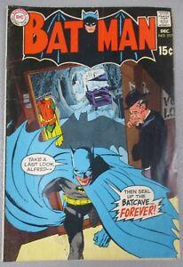 Batman-217-Batcave-Sealed-VG-G-Neal-Adams-Robin-Goes-To-College-1969-DC-Comics
