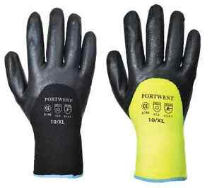 Portwest-A146-Arctic-Winter-Thermal-Lined-Cold-Working-Gloves