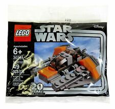 Lego Star Wars 20th Anniversary Polybags 30384 30461 30383 Lot Of 3 New