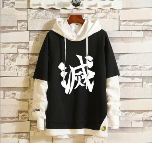 Kimetsu no Yaiba Anime Kapuzen Kapuzenpulli Pulli Hoodie pullover Demon Slayer