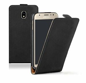 info for 037d7 b50e9 Details about SLIM BLACK Samsung Galaxy J3 2017 Leather Flip Case Cover For  Mobile Phone