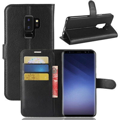 For Samsung Galaxy S9 /S9+ Plus Leather Phone Case Stand Wallet Shockproof Cover