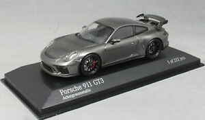 Minichamps-Porsche-911-991-GT3-in-Agate-Grey-Met-2017-413066033-1-43-NEW-Ltd-222