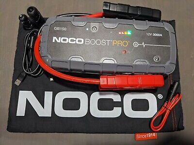 Case NOCO Boost HD GB150 3000 Ampere 12 Volt UltraSafe tragbares Lithium-Autobatterie-Starthilfe-Pack /& GBC015 Pro Eva Schutzetui f/ür GB150 Boost UltraSafe Lithium-Starthilfe und Powerbank