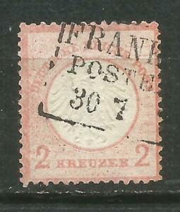 ALEMANIA-Scott-8-0-usado-1872-Sin-defectos