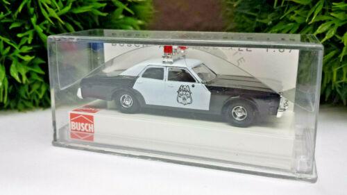 Busch Praline 46609 Dodge Monaco Police Polizei 1:87 in OVP