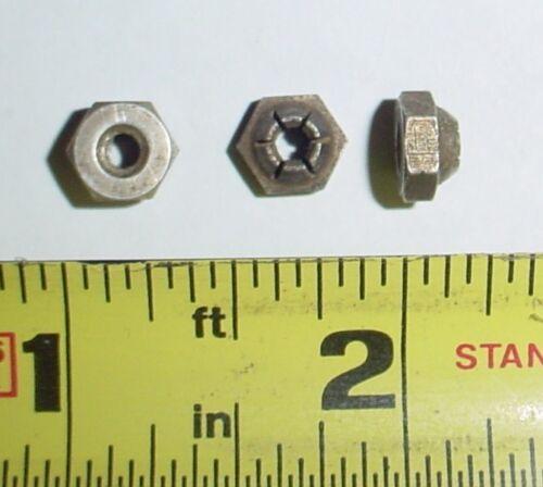 Stainless//Cadmium 10 ea 6-32 450 F Self Locking  Nuts