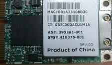 HP Wireless PCI Express Minicard 802.11B/G HS 395261-001 407159-001 416376-001
