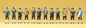 Preiser-10250-Bavarian-Music-Band-H0