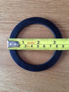 Large rubber washer gasket water pump hose couplings 2 3 ebay image is loading large rubber washer gasket water pump hose couplings publicscrutiny Images