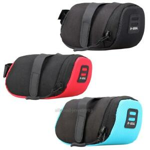 Bicycle Bike Waterproof Storage Saddle Bag Seat Outdoor Cycling Tail Rear Pouch