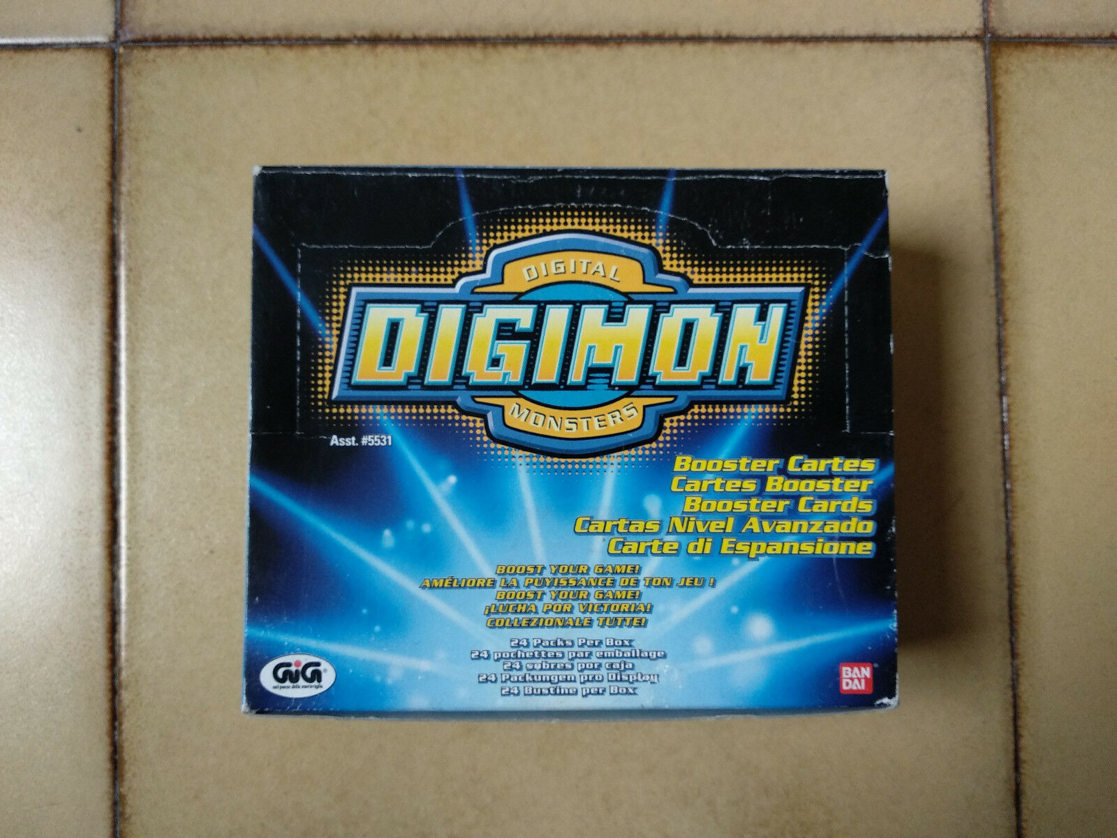 Digimon - - - Digi-Battle Card Game -  Series 1 - 24 booster BOX - df0724