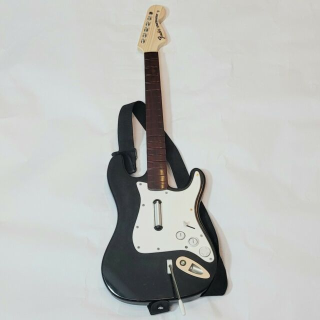 Xbox 360 Rockband  Fender Guitar Wireless Controller For Parts Not Working