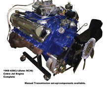 Ford 428CJ Cobra Jet Engine - Complete, Drop-in, Crank and Drive (9C26)