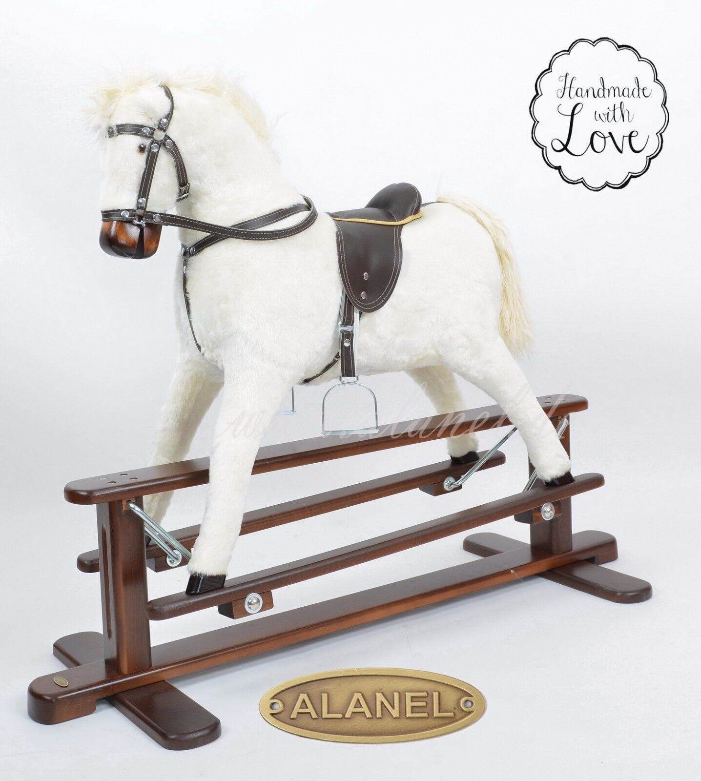 Nuevo Marte V Hecho a Mano Mecedora Caballo Schaukelpferd Cheval basculante Cavallo dondolo