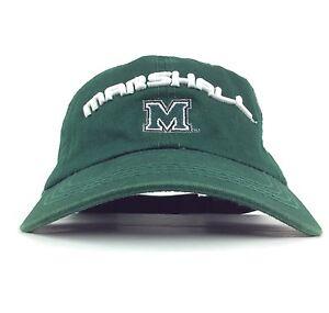 online store 9cdc4 81e82 Image is loading NCAA-Marshall-University-The-Herd-Green-Baseball-Cap-