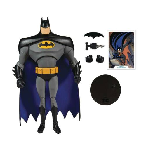 DC MULTIVERSE ANIMATED WAVE 1 BATMAN 7IN SCALE ACTION FIGURE NEW//BOXED