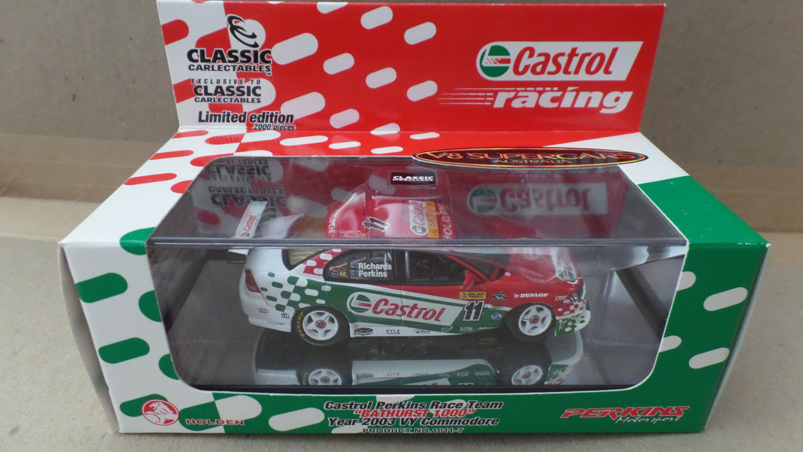 Richards Perkins Holden VY Commodore BATHURST 2003 2003 2003 - 1 43 scale 233f91