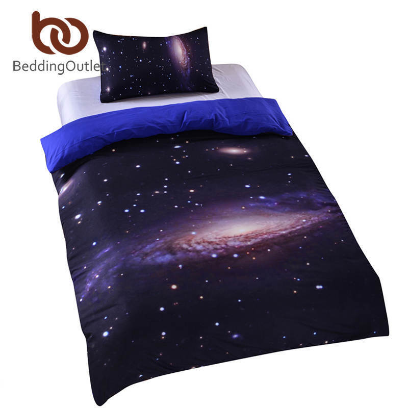 Bed in a sac Ensemble De Literie 3d King Taille Galaxy Bed Cover Set discount Couvre-lit qu
