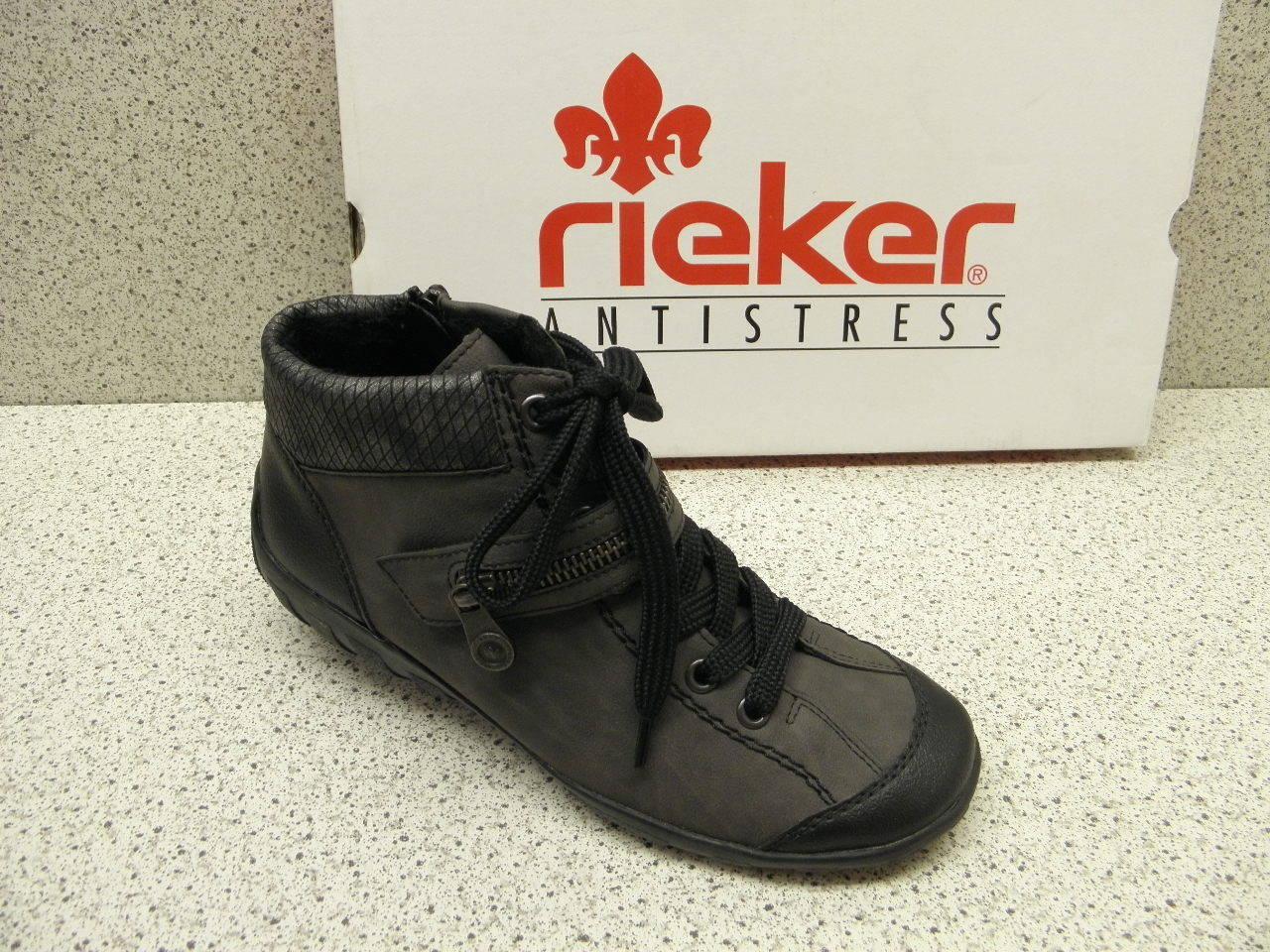 Rieker ® réduit, jusqu 'ici  moderne moderne moderne gris l6542-01 (r151) ba93a5