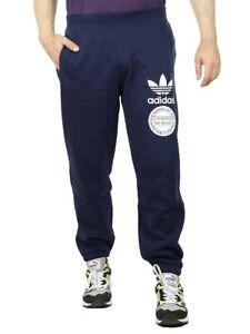 Details zu Adidas Originals Graph Sweatpant Pant Herren Jogginghose AB8038 Hose blau