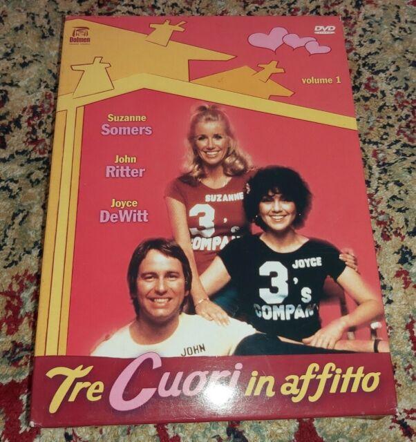 DVD TRE CUORI IN AFFITTO STAGIONE 1 VOLUME 1 FUORI CATALOGO