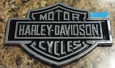 (1) NEW HARLEY DAVIDSON TAILGATE BAR AND SHIELD EMBLEM BADGE NAMEPLATE Logo