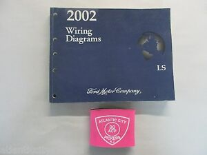 2002 ford lincoln ls wiring diagrams service manual ebay. Black Bedroom Furniture Sets. Home Design Ideas