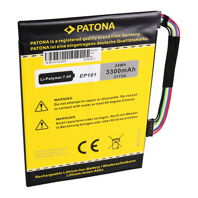 PATONA Batteria p. Asus EP101 Transformer TF101 Mobile Docking TF101 prefix