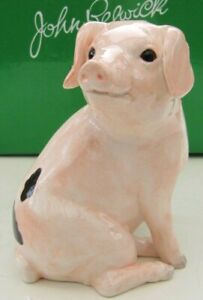 JOHN BESWICK Ceramic Farmyard Animals - Gloucester Old Spot