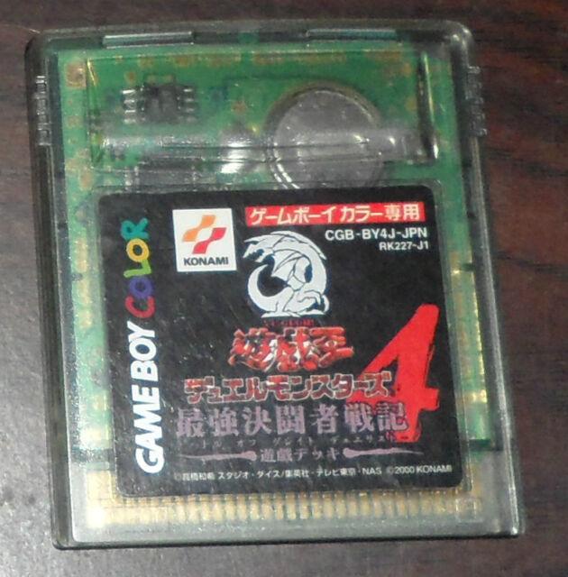 Nintendo Game Boy Color. Yu-Gi-Oh! Duel Monsters 4 Yuugi DMG-BY4J-JPN