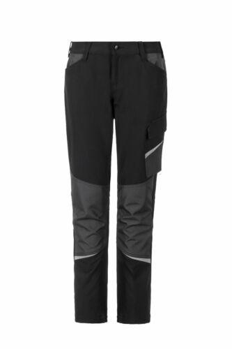 Planam Outdoor Vario Damen Hose schwarz//grau Lady Freizeithose Damenhose 34-54