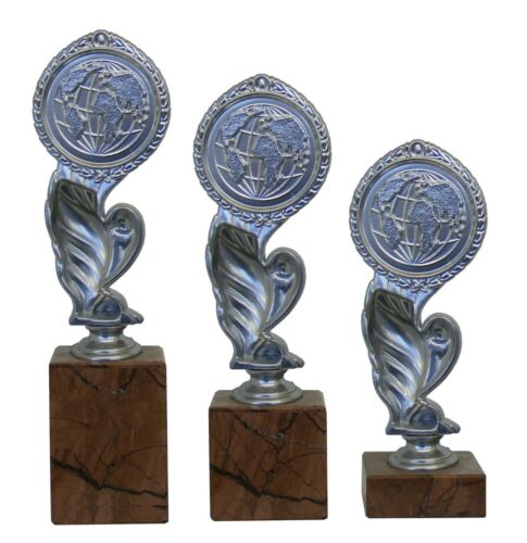 On Marble Base 3 Sizes Scrabble Silver Trophy Liberty Award Engraved Free