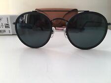 8f5f93c336749 item 4 Ray-Ban RB3647 Round Double Bridge 002 R5 Black Frame Unisex  Sunglasses -Ray-Ban RB3647 Round Double Bridge 002 R5 Black Frame Unisex  Sunglasses