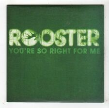 (FY604) Rooster, You're So Right For Me - 2005 DJ CD