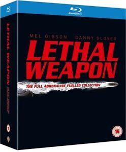 Letal-weapon-Collection-blu-ray-5-Discos-Complete-Box-Set-todos-4-peliculas-1-4