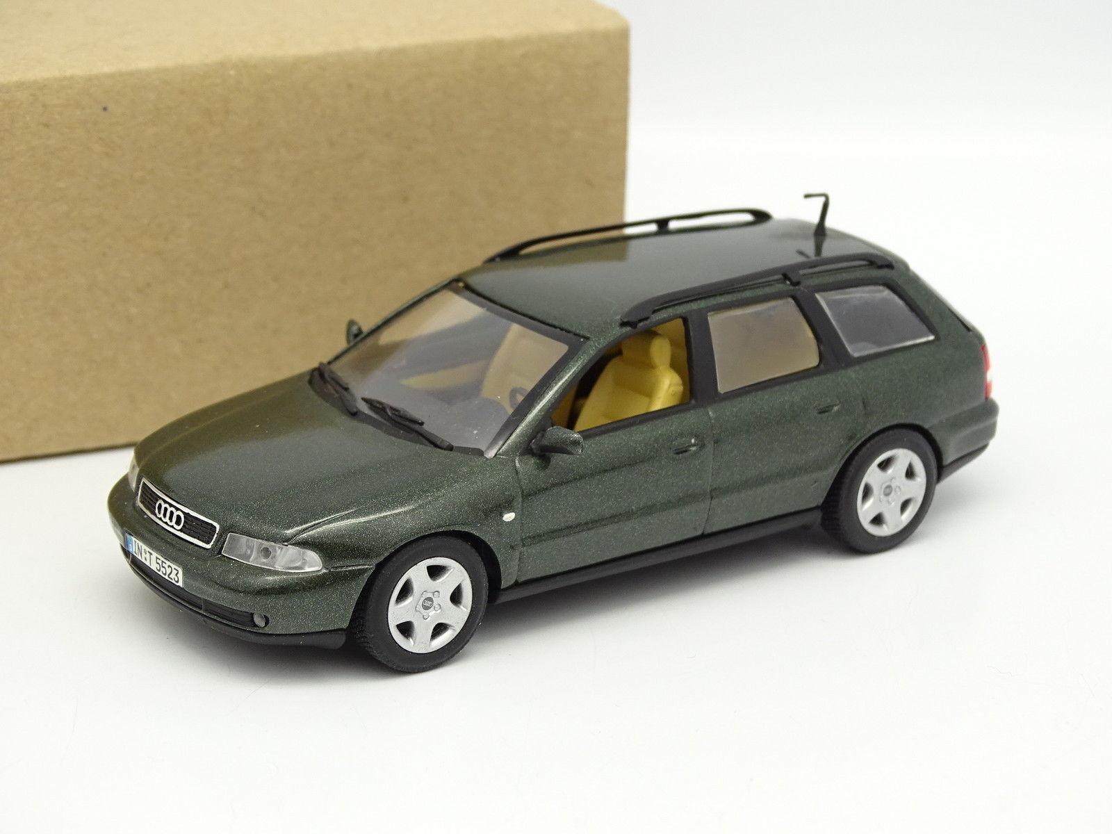 Minichamps SB 1 43 - Audi A4 A4 A4 Delantero 1995 verde 0f732e