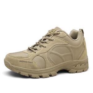 Botas-al-tobillo-para-Hombre-Militar-Tactico-Desierto-Combate-Ejercito-Senderismo-Zapatos-Tenis