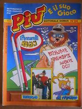 PIU e il suo Gioco n°24 1983  Ed. Domus  [G416]