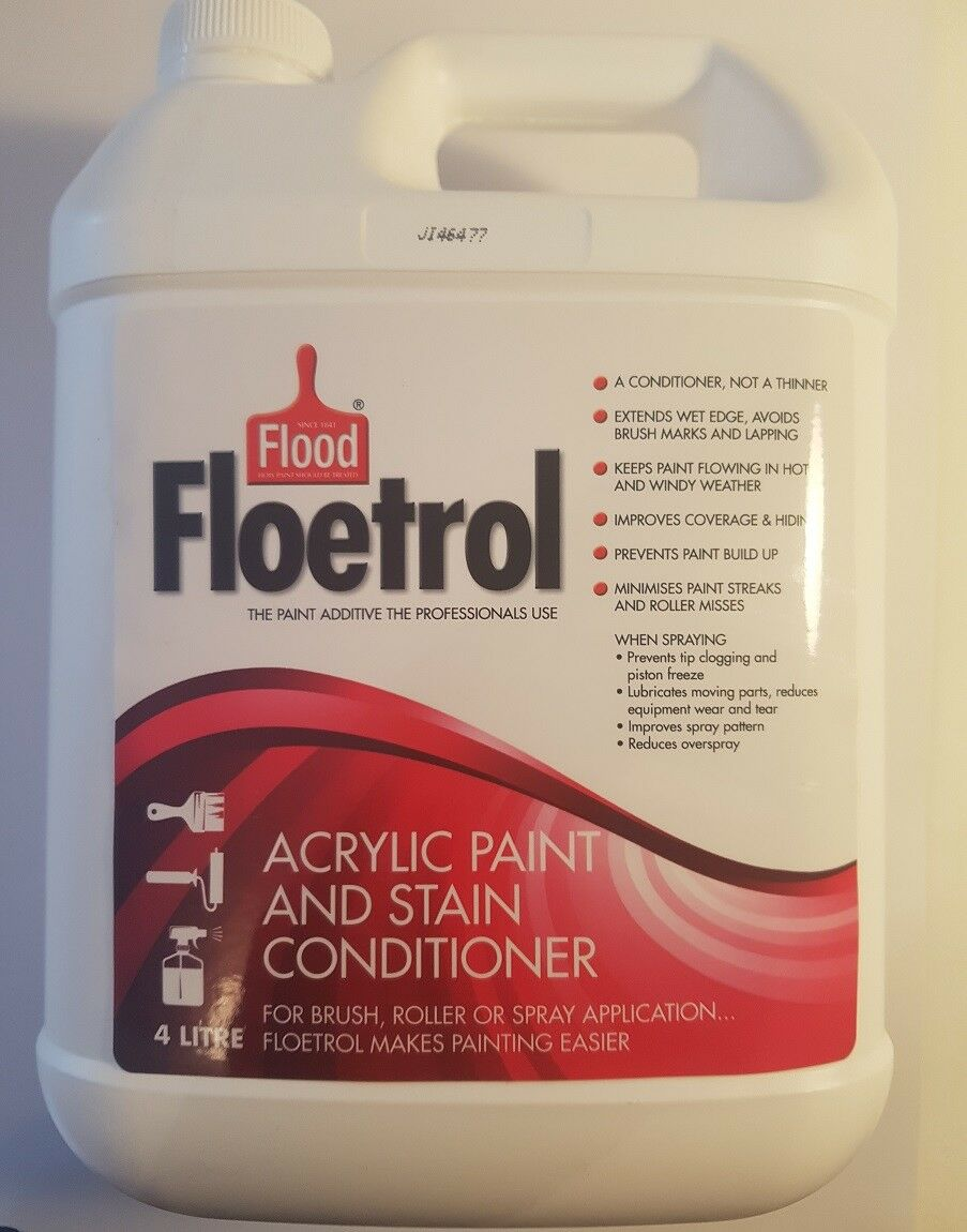 Flood Floetrol Acrylic Paint And Stain Conditioner 4l For Sale